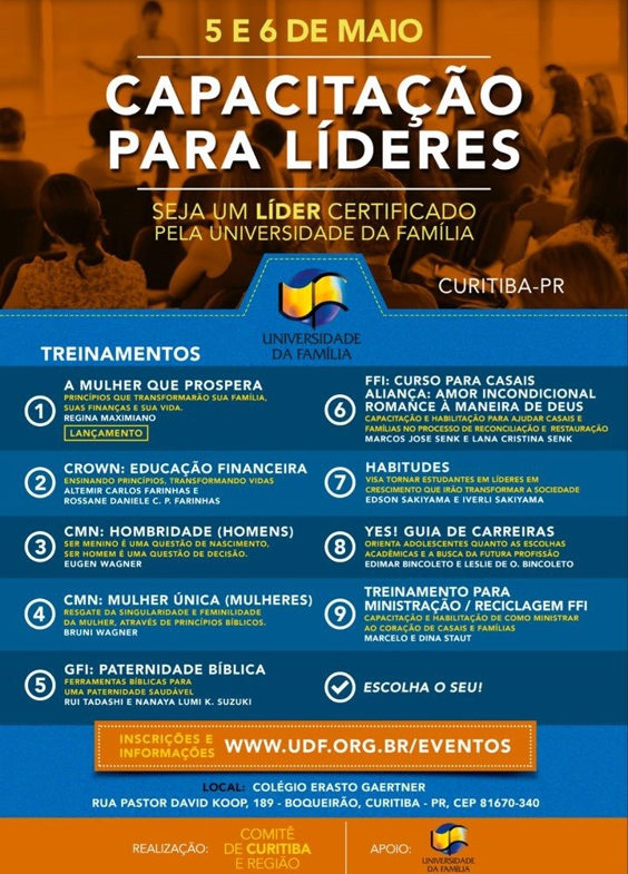 UDFCapacitacaoParaLideres