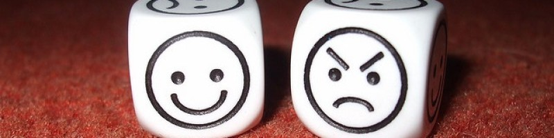 happy angry dice